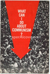 What Can I Do About Communism? 1962 vintage original old booklet Guideposts anti Leftist Red Communist Commie