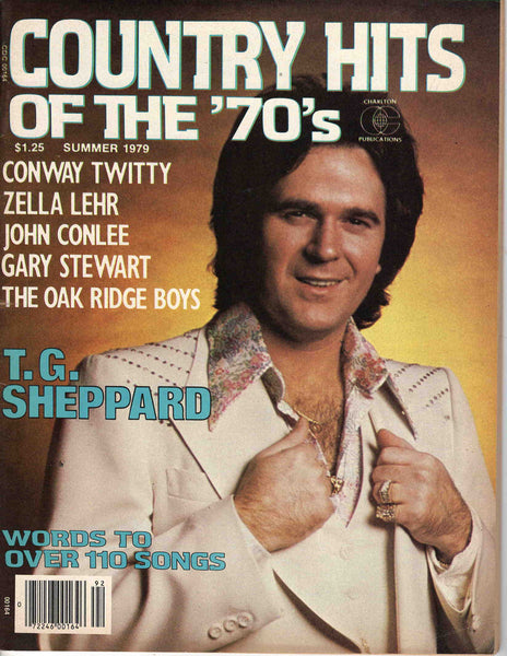 Country Hits of the Seventies '70's Summer 1979 music magazine T.G. Sheppard