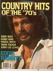 Country Hits of the Seventies '70's Winter 1978 music magazine Eddie Rabbit