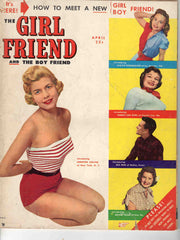 Girl Friend and the Boy Friend #1 1951 vintage pin-up cover magazine
