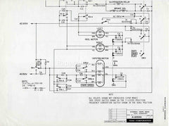 TEAC A-2500 Stereo Reel-to-Reel Tape Deck Tape Transport & Preamplifier 1972 vintage original old schematic diagram electronics