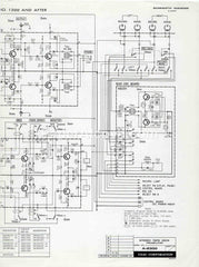 TEAC A-2300 Stereo Reel-to-Reel Tape Deck Preamplifier 1972 vintage original old schematic diagram electronics
