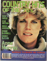 Country Hits of the Seventies '70's Spring 1980 music magazine Anne Murray