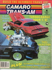 Camaro / Trans-Am #1 January 1984 car magazine