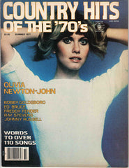 Country Hits of the Seventies '70's Summer 1977 music magazine Olivia Newton-John