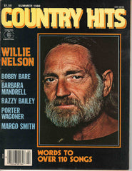 Country Hits Summer 1980 music magazine Willie Nelson