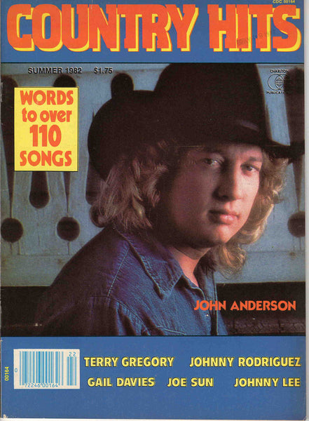 Country Hits Summer 1982 music magazine John Anderson