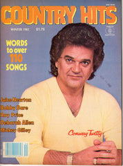 Country Hits Winter 1982 music magazine Conway Twitty