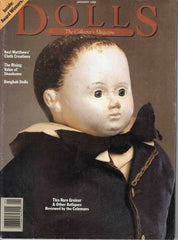 Dolls The Collector's Magazine January 1992 Greiner Bangkok Skookums