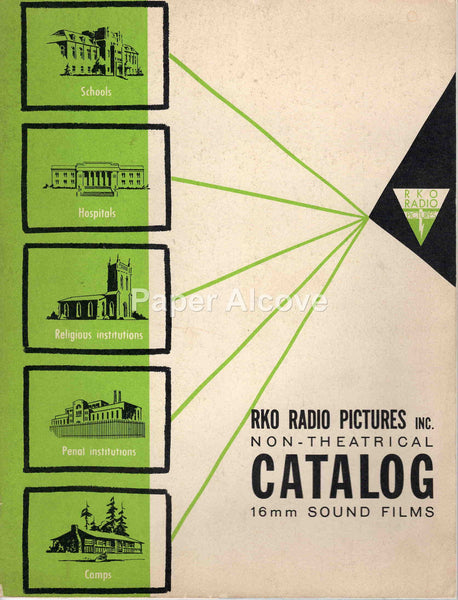 RKO Radio Pictures 1953 Non-Theatrical 16mm Sound Films vintage original trade catalog movies motion pictures