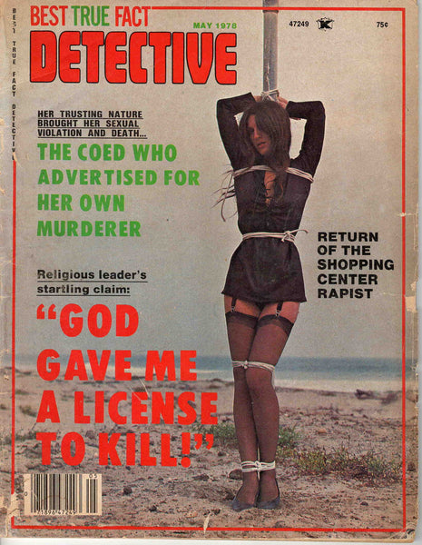 Best True Fact Detective May 1978 magazine