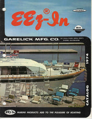 Eez-In Garelick Mfg. St. Paul Park MN 1974 marine boating catalog