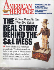 American Heritage magazine February March 1991 Uncle Sam