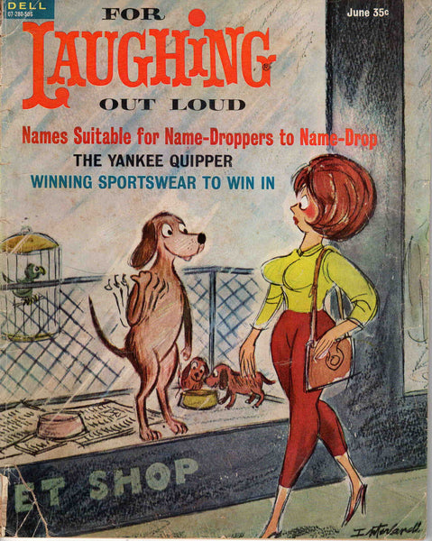 For Laughing Out Loud magazine Apr-Jun 1965 #35