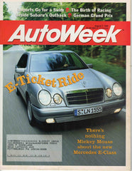 AutoWeek August 7 1995 Mercedes E-Class magazine