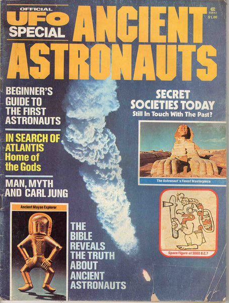 Ancient Astronauts Official UFO Special Winter 1975 magazine issue #1