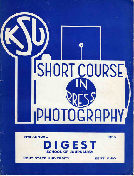 Kent State KSU School of Journalism 1955 14th Annual Digest Press Photography