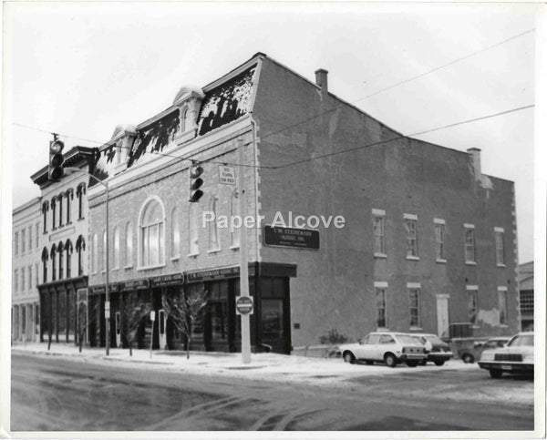 T.W. Steinemann Assoc. building photograph c. 1970s-1980s vintage original old photo Sandusky Ohio architecture insurance company hafner