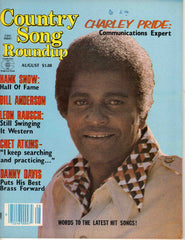 Country Song Roundup August 1980 music magazine Charley Pride