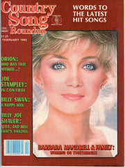 Country Song Roundup February 1982 music magazine Barbara Mandrell
