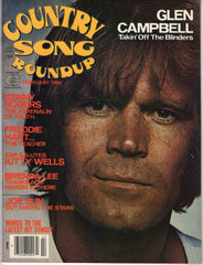 Country Song Roundup February 1980 music magazine Glen Campbell