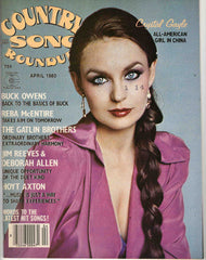 Country Song Roundup April 1980 music magazine Crystal Gayle