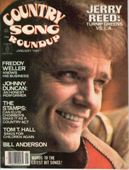 Country Song Roundup January 1980 music magazine Jerry Reed