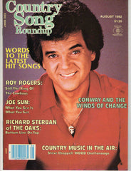 Country Song Roundup August 1982 music magazine Conway Twitty