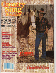 Country Song Roundup July 1982 music magazine Ed Bruce horse