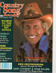 Country Song Roundup December 1982 music magazine Porter Wagoner