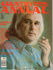 Country Song Roundup Annual Fall 1976 music magazine Charlie Rich