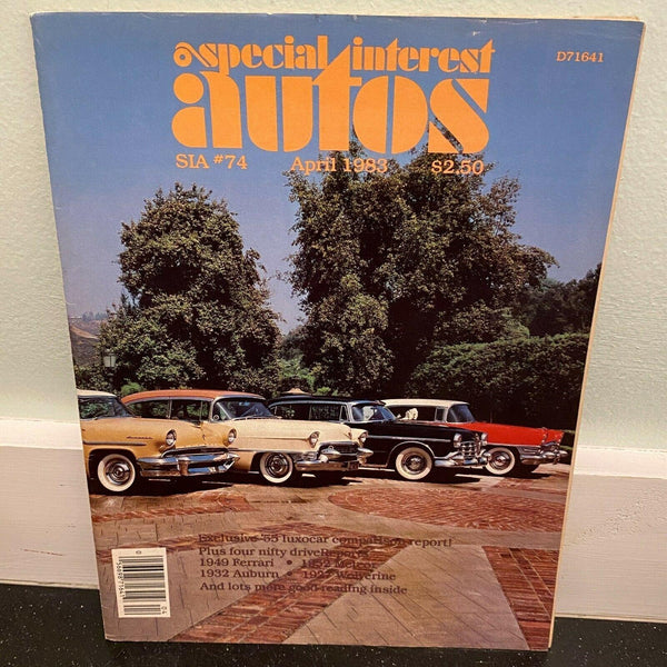 Special Interest Autos April 1983 1949 Ferrari 1932 Auburn car magazine