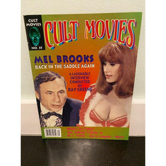 Cult Movies #35 magazine Mel Brooks Blazing Saddles WC Fields Harry Langdon