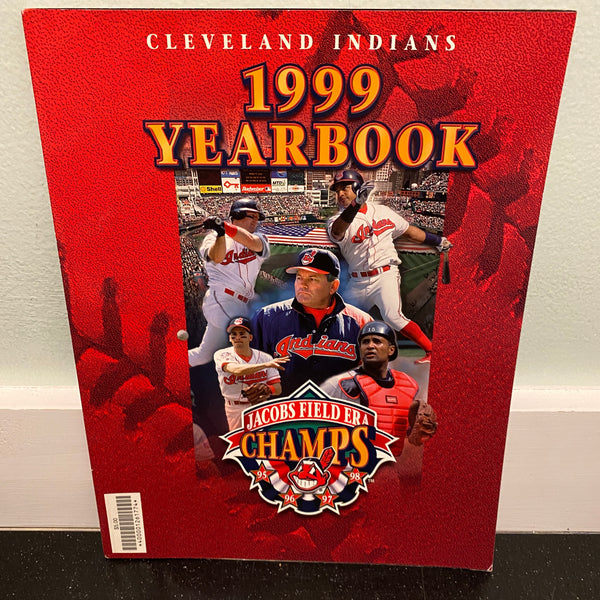 Cleveland Indians 1999 Official Team Yearbook