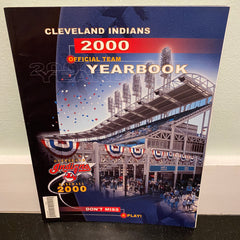 Cleveland Indians 2000 Official Team Yearbook