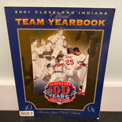 Cleveland Indians 2001 Official Team Yearbook