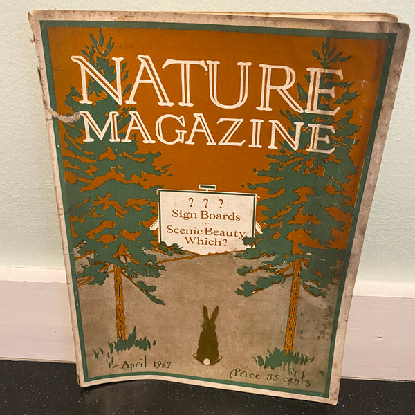 Nature April 1927 magazine