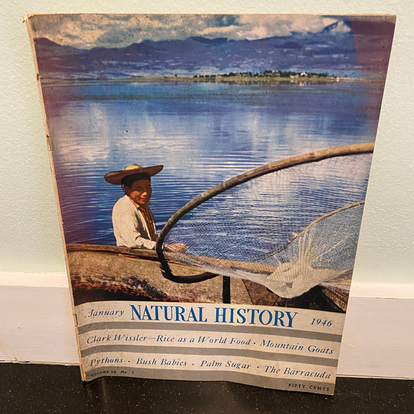 Natural History January 1946 magazine
