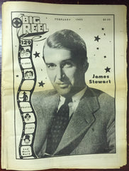 The Big Reel February 1985 movie collector newspaper James Jimmy Stewart