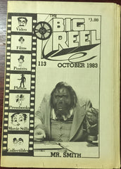 The Big Reel October 1983 #113 movie collector newspaper Mr. Smith