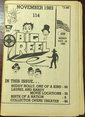 The Big Reel November 1983 #114 movie collector newspaper Buddy Holly Beirut Bombing Commemoration
