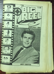The Big Reel January 1984 #116 movie collector newspaper Andy Griffith Don Knotts Betty Lynn