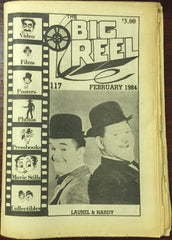 The Big Reel February 1984 #117 movie collector newspaper Laurel & Hardy