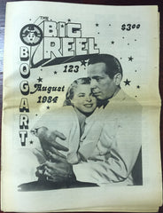 The Big Reel August 1984 #123 movie collector newspaper Humphrey Bogart