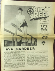 The Big Reel July 1984 #122 movie collector newspaper Ava Gardner