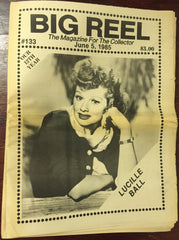 The Big Reel June 1985 #133 movie collector newspaper Lucille Ball