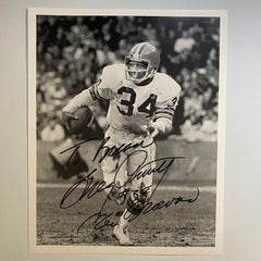 Greg Pruitt Cleveland Browns #34 8x10 Photo Vintage 1980s