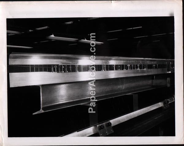 Goodyear Aircraft Corporation Laboratory Manufacturing Machinery 1960s vintage original old photograph Akron Ohio