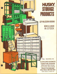 Cleveland Business Furniture Husky Storage Products 1980 Catalog