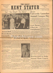 Daily Kent Stater Newspaper May 19 1961 vintage original Kent State KSU Ohio